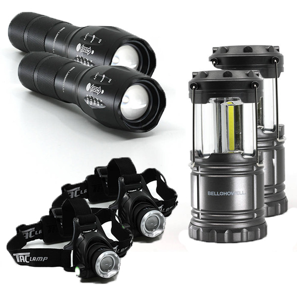 Deluxe Tactical Light Set